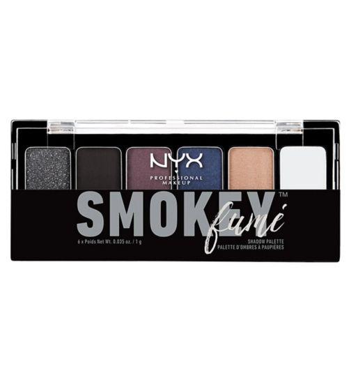 NYX Professional Makeup The Smokey Fume Shadow Palette