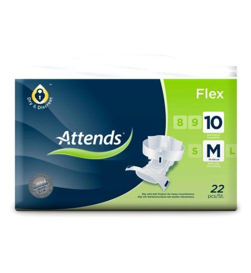 Attends Flex 10 Medium - 22 slips