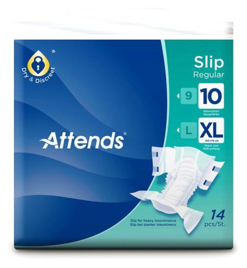 Attends Slip Regular 10 XL - 14 slips