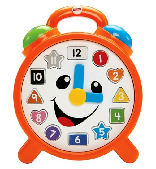 Fisher-Price Laugh & Learn? Counting Colors Clock