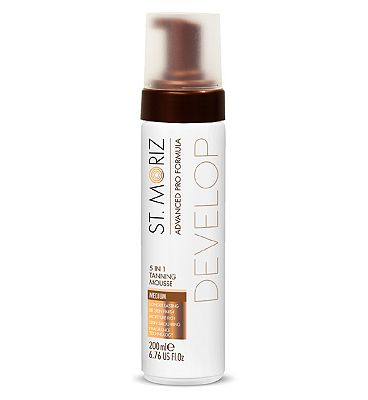 St. Moriz Advanced Pro Formula Self Tan Mousse Medium 200ml