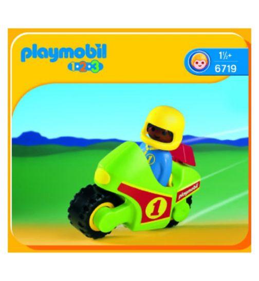 Playmobil 123 Motorbike