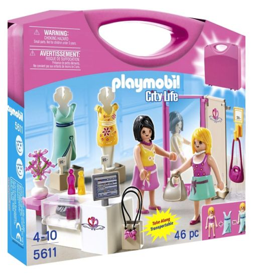 PLAYMOBIL Fashion Boutique Carry Case 5652