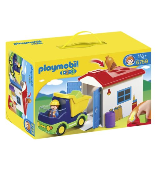 Playmobil 123 Truck & Garage