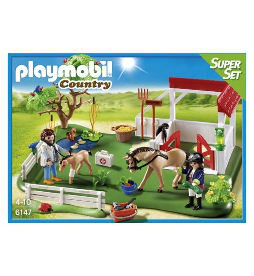Playmobil Super Set -Horse Paddock