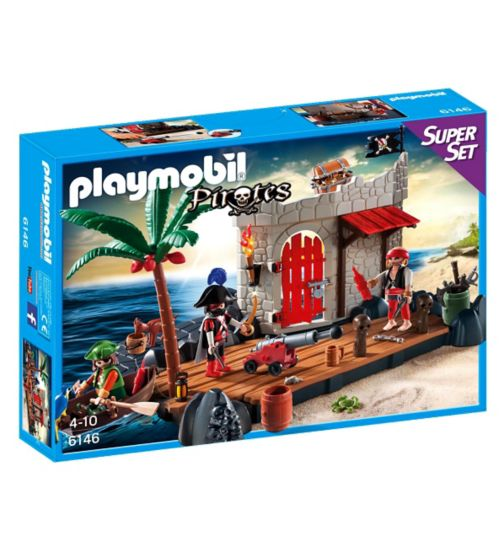 Playmobil Super Set- Pirate Fort