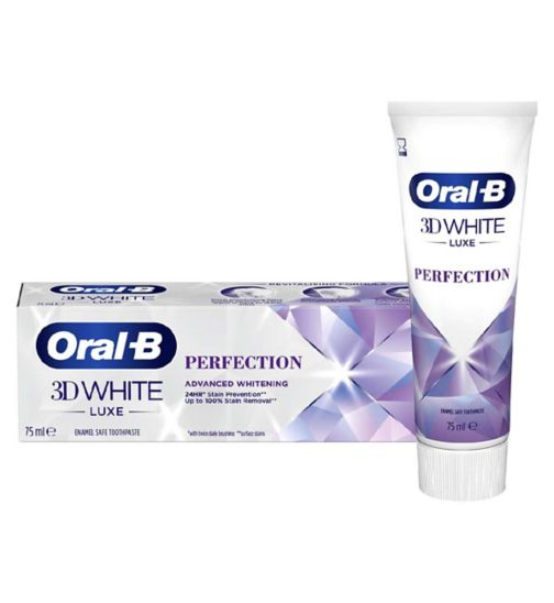 Oral B 3D White Luxe Perfection Toothpaste - 75ml