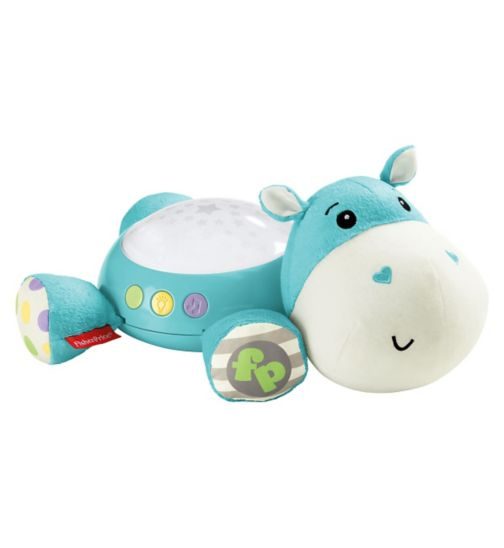 Fisher Price Hippo Plush Projection Soother