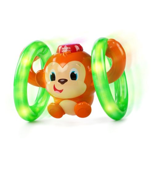 Bright Starts Roll N Glow Monkey