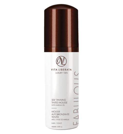 Vita Liberata Fabulous Self Tan Tinted Mousse Dark 100ml