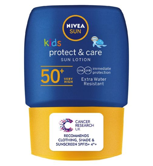 Nivea Sun Kids Water Resistant Sun Cream SPF50 50ml