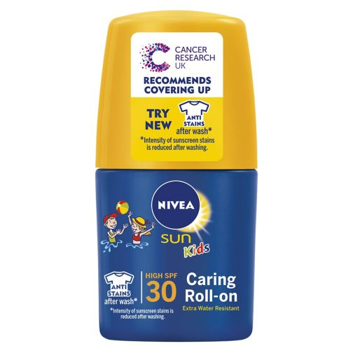 Nivea Sun Kids Water Resistant Sun Cream Roll-on SPF30