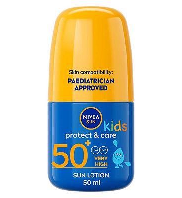 NIVEA SUN Kids Suncream Roll-On SPF 50+, 50ml