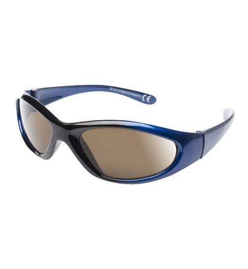 Boots Kids Boys Blue Shiny Wrap Sunglasses