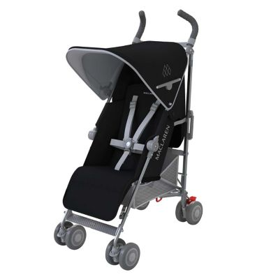Maclaren Quest in Black/Silver Stroller