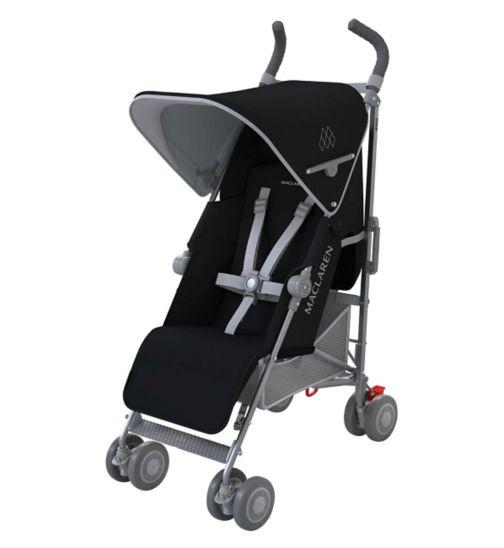 Maclaren Quest Black/Silver Stroller