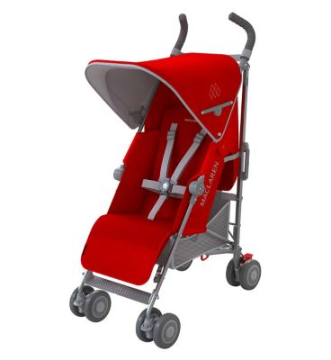 Maclaren Quest Stroller - Cardinal/Silver
