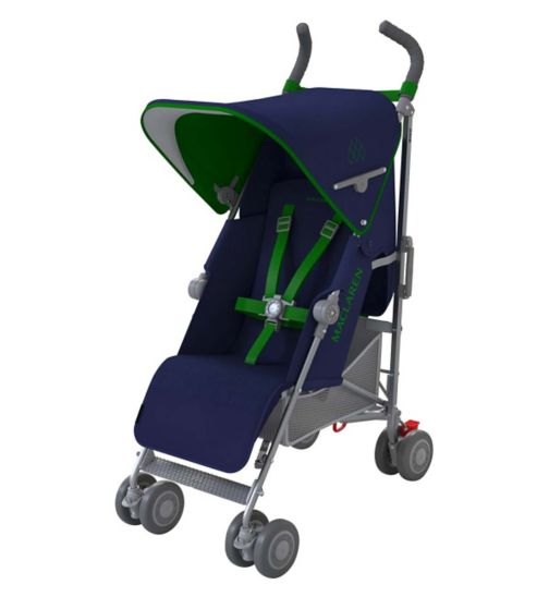 Maclaren Quest Stroller - Medieval Blue/Jelly Bean Green
