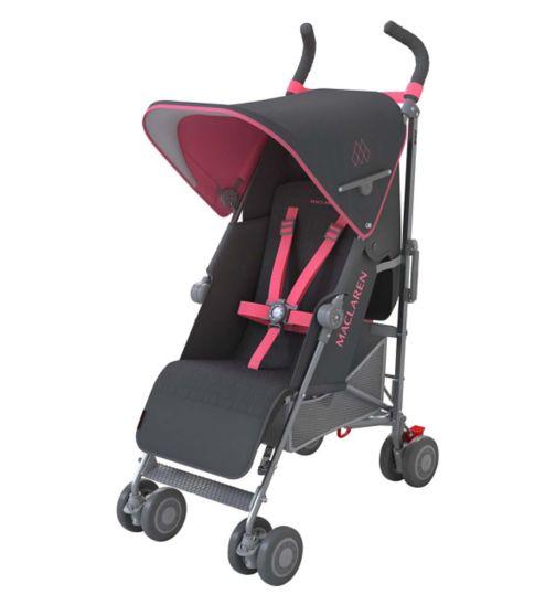 Maclaren Quest Stroller - Charcoal/Primrose