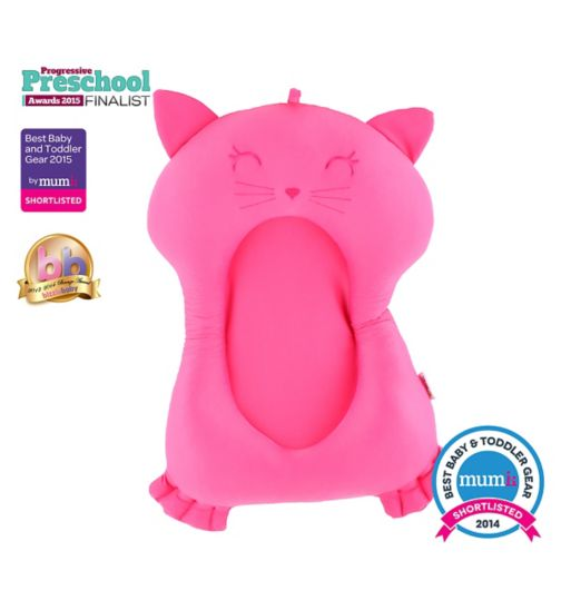 Minene Bath Buddy Support -Pink Cat