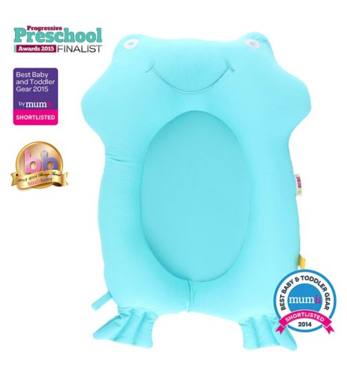 Minene Bath Buddy Support - Aqua Frog