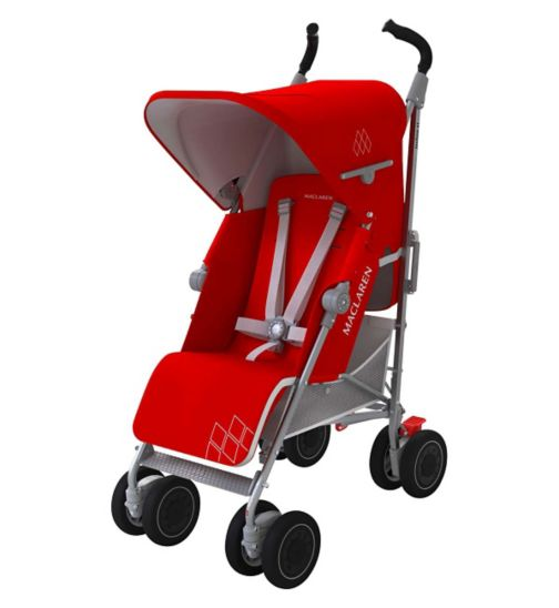 Maclaren Techno XT Stroller - Cardinal/Silver