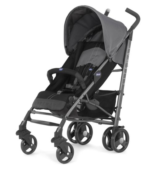 Chicco New Liteway Stroller - Coal