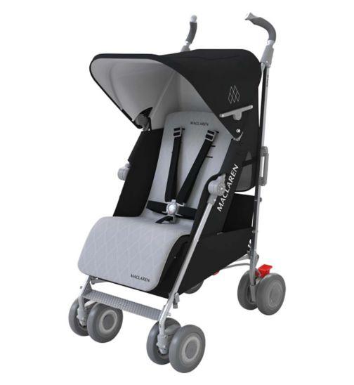 Maclaren Techno XLR Stroller - Black/Silver