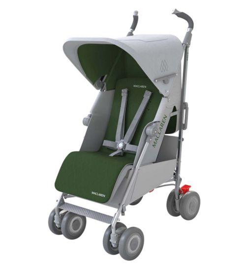 Maclaren TechnoXLR Silver/Green