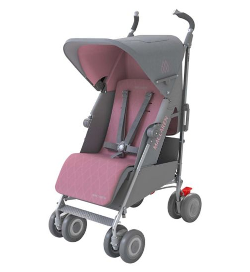 Maclaren Techno XLR Stroller - Dove/Orchid Smoke