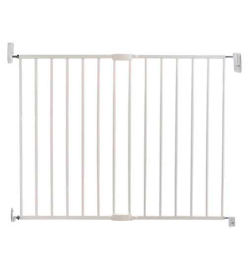 Lindam Push To Shut Extending Metal Wall Fix Baby Gate