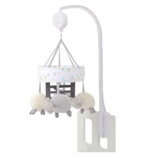 Silver Cloud Counting Sheep Mobile