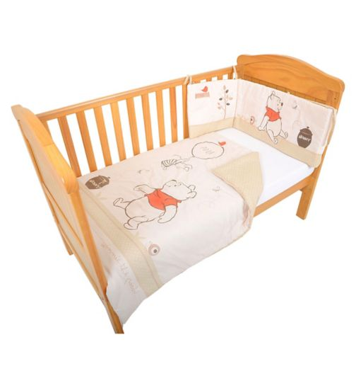 Disney Winnie the Pooh Neutral Spot 2 piece Bedding Set