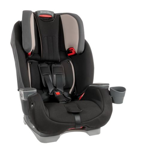 Graco Milestone Group 0+1/2/3 Car Seat - Aluminium