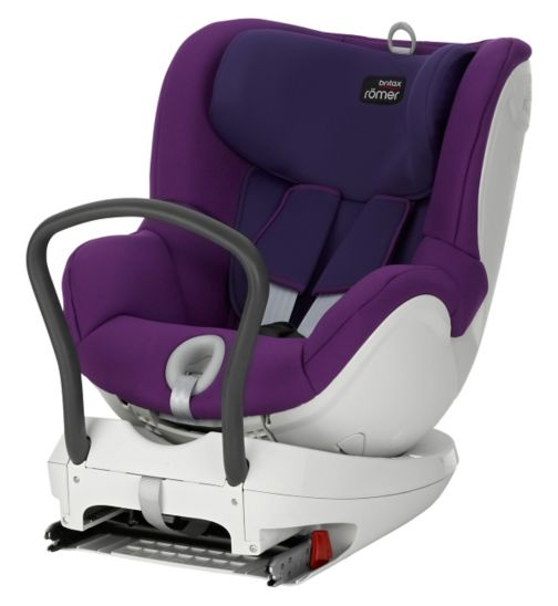 Britax Romer Dualfix Car Seat group 0+/1 mineral purple
