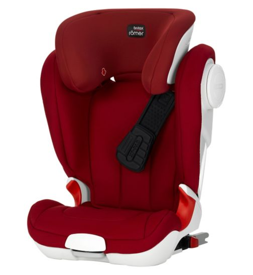Britax Römer KIDFIX XP SICT Group 2/3 Booster Seat - Flame Red