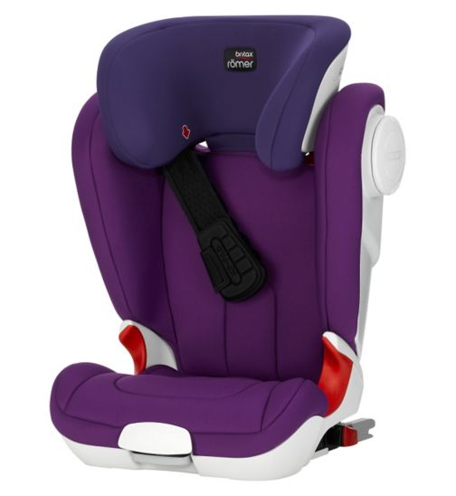 Britax Romer KidFix XP SICT Group 2/3 Booster Seat - Mineral Purple