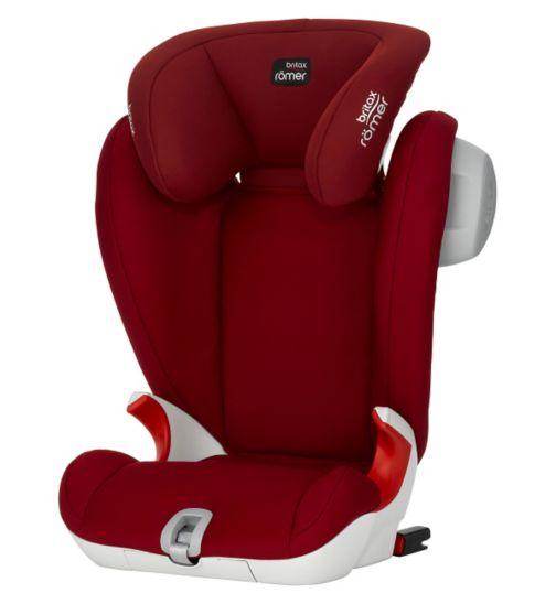 Britax KidFix SL SICT Group 2/3 Car Seat - Flame Red