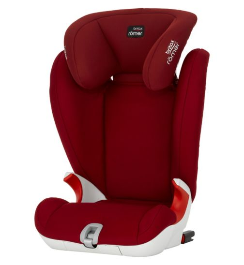 Britax Romer Kidfix SL Group 2/3 Booster Seat -  Flame Red