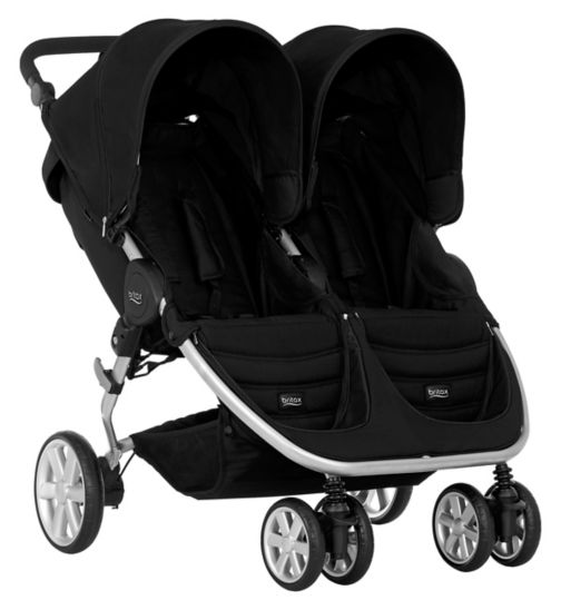 Britax Römer B-AGILE DOUBLE Pushchair – Cosmos Black