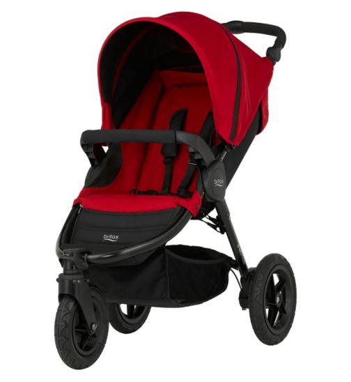 Britax B-Motion 3 Pushchair - Flame Red