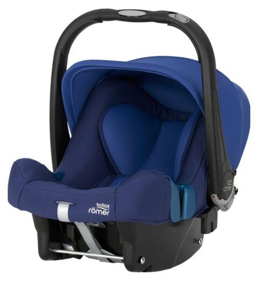 Britax Römer BABY-SAFE PLUS SHR II Group 0+ Car Seat - Ocean Blue