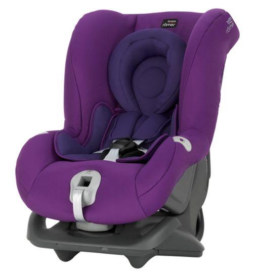 Britax Romer First Class Plus Group 0+/1 Car Seat - Mineral Purple