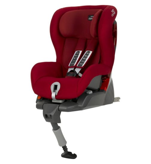 Britax Romer Safefix Plus Group 1 Car Seat - Flame Red