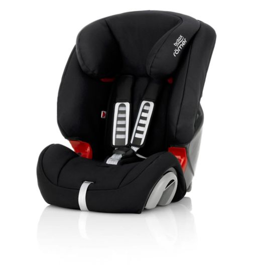 Britax Römer EVOLVA 1-2-3 PLUS Car Seat – Cosmos Black