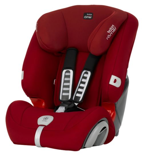 Britax Romer Evolva 123 Plus Car Seat - Flame Red
