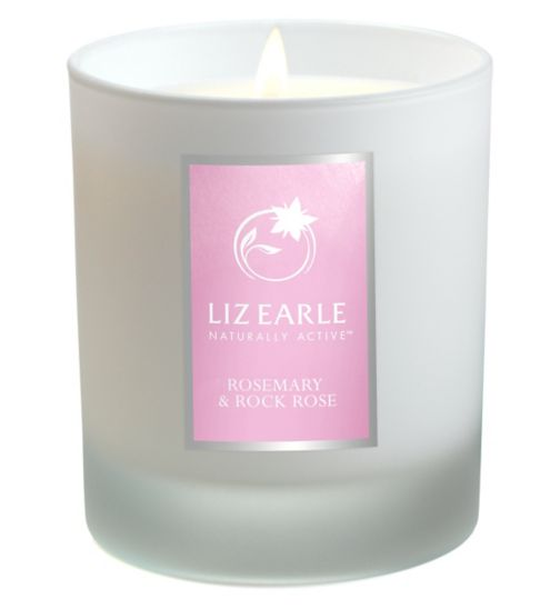 Liz Earle Rosemary & Rock Rose Botanical Candle