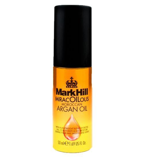 Mark Hill Miracoilicious Moroccan argan oil 50ml