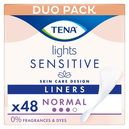 lights by TENA Incontinence Liners - 48 pack