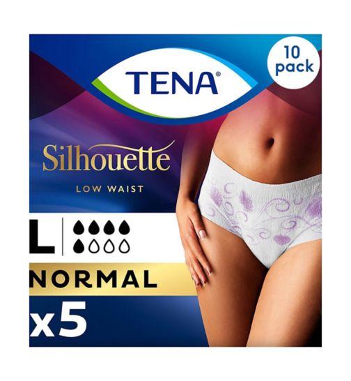 Tena Lady Pants Discreet Large - 5 Pants;Tena Lady Pants Discreet Large - 50 Pants (10 x 5);Tena Pants discreet large 5s